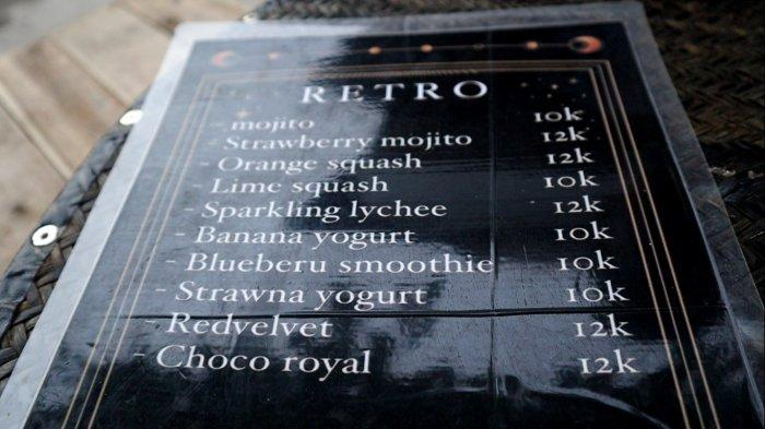 Wisata Kalsel, Kedai Retro Drink Banjarmasin Sediakan Mojito Sebagai Menu Andalan