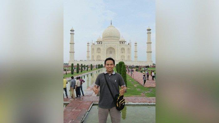 Mumpung Kuliah di India, Pria Asal Martapura Ini Nyambi Jadi Youtuber, Kesempatan untuk Menjelajah