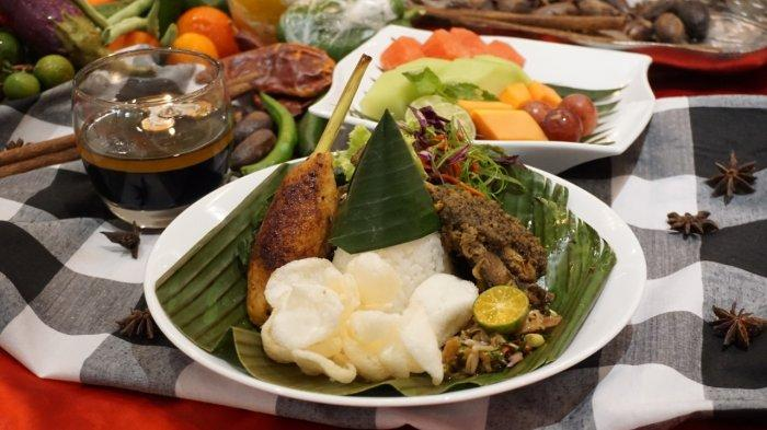 Pilihan Menu Nasi Campur Enam Daerah di Best Western Banjarmasin, Tinggal Pilih Mana Disuka