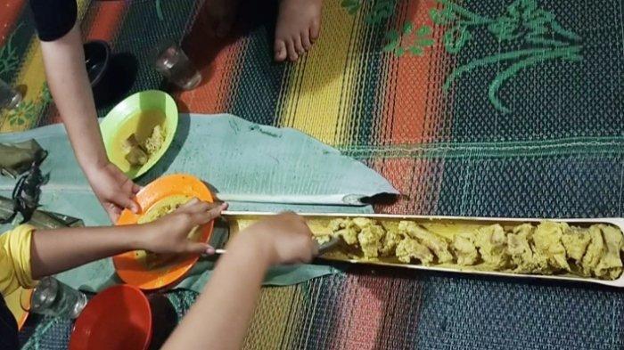 Disantap dengan Lauk Bapalan, Wanginya Nasi Humbal Semakin  Menggugah Selera