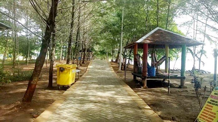 Menikmati Malam di Pantai Gedambaan, Menginap di Cottage Berfasilitas Lengkap Hanya Rp 250 Ribu