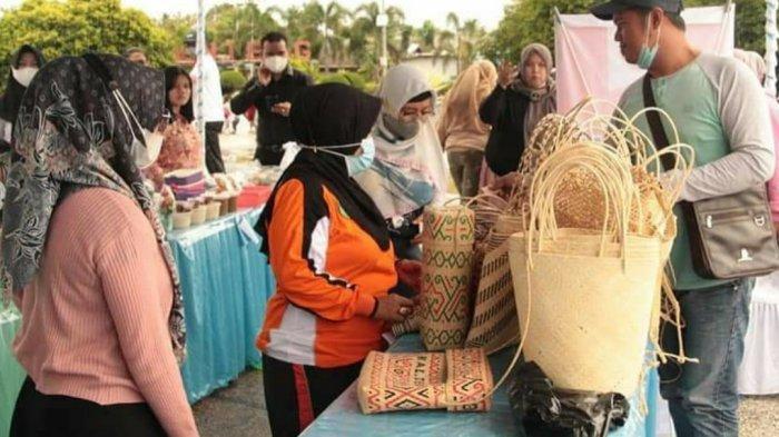 Wisata Kalteng, Ada Mini Bazaar Ekonomi Kreatif di Sport & Culture Tourism Kapuas