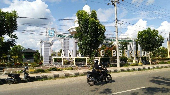 Mudah Diakses, RTH Tanjung Bersinar Park Selalu Ramai Dikunjungi Warga