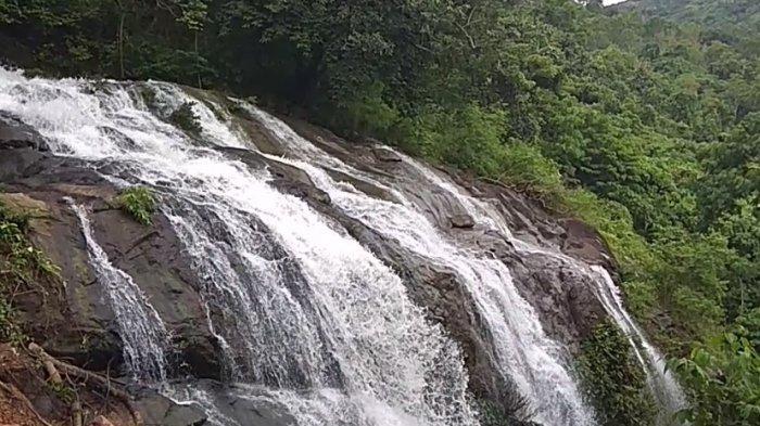 Air Terjun Bajuin Pancoran Lima Wisata Kalsel di Kabupaten Tanahlaut, Ciri Khas Ada 5 Pancoran Air