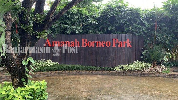 Wisata Kalsel, Amanah Borneo Park, Destinasi Rekreasi Sambil Edukasi Murah di Banjarbaru