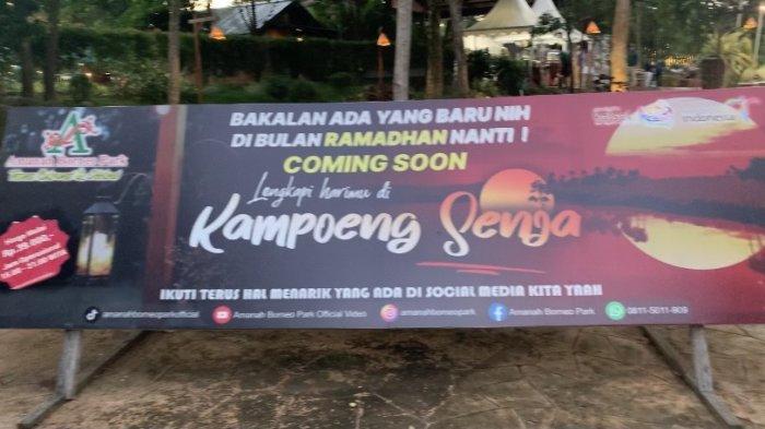 Wisata Kalsel Kampung Senja Amanah Borneo Park Banjarbaru.