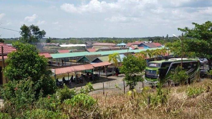 Wisata Kalsel, lesehan tambak ikan Bincau Kecamatan Martapura Kabupaten Banjar.
