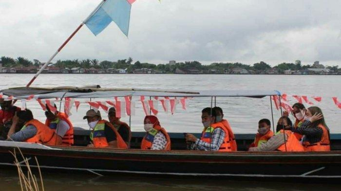 Wisata Kalteng, Bisa Menikmati Susur Sungai saat Sport & Culture Tourism Sabtu Pagi di Kapuas