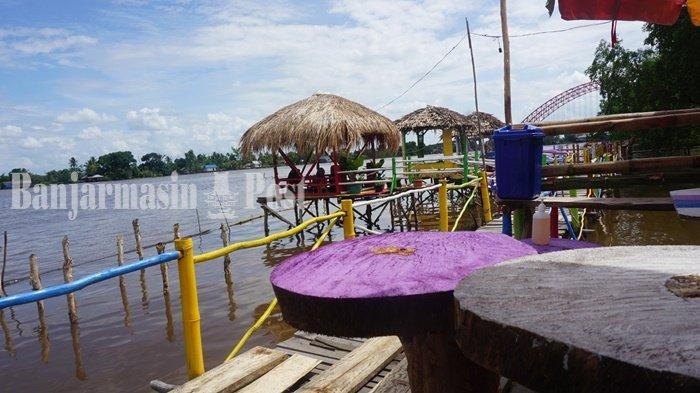 Wisata Kalsel, Nikmati Pesona Tepian Sungai Barito, Segini Tarif Masuk Lampau Rumpiang