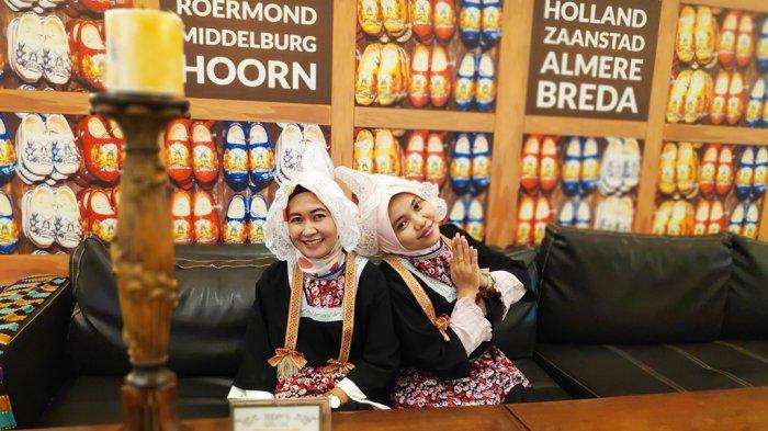 Recommended Dikunjungi di Banjarmasin, Kafe ini Usung Ciri Khas Negeri Kincir Angin