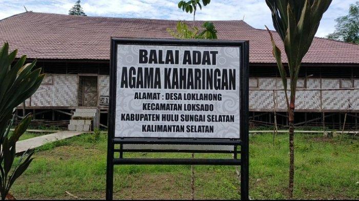 VIDEO Balai Adat Malaris, Bangunan Ritual Aruh Adat Terbesar se-Kalsel di Loksado HSS