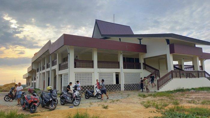 Gedung Taman Budaya Kabupaten Balangan Provinsi Kalimantan Selatan, April 2020 Bakal Diresmikan