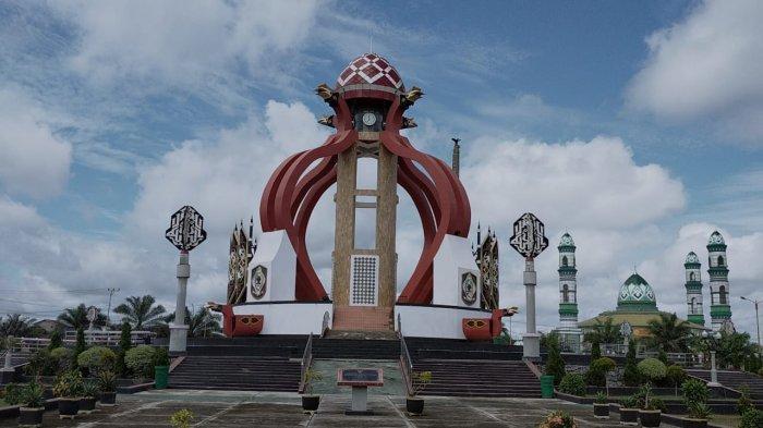 Bundaran Soedirman Dikenal Sebagai Bundaran Balanga di Kabupaten Kotawaringin Timur Kalteng
