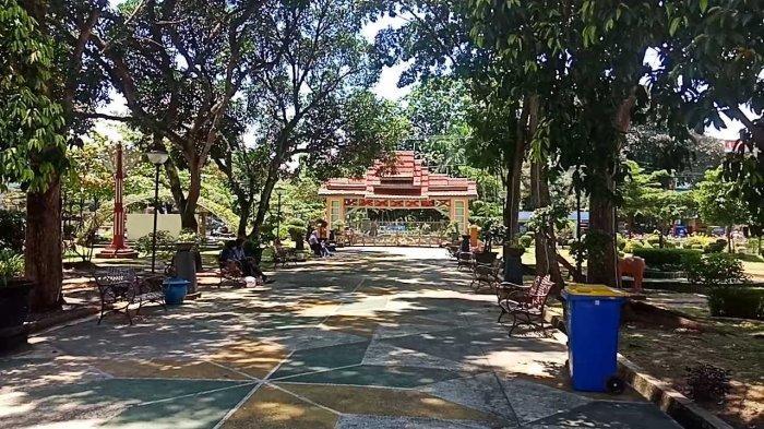Melihat Taman Bougenville yang Cocok Jadi Tempat Bersantai di Kota Banjarbaru
