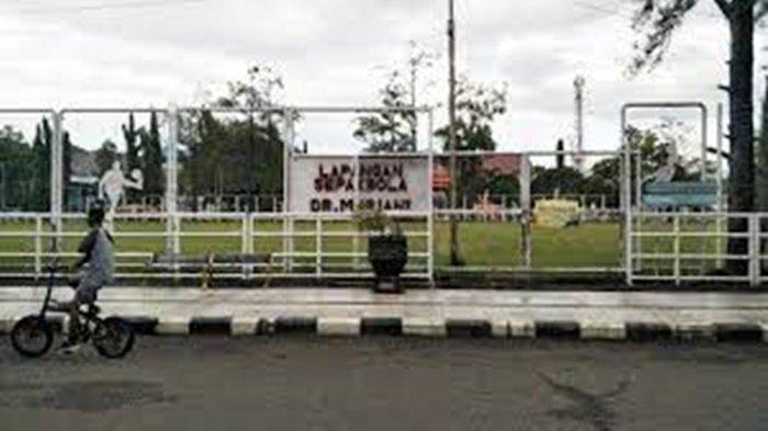 Rumput Juga Baik dan Terawat, Lapangan Sepakbola Dr Murjani Banjabaru Kalsel