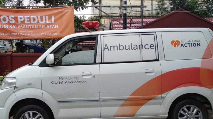 Mobil Ambulance Gratis Buat Keluarga Kurang Mampu