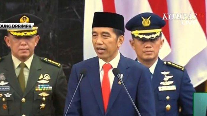 PIDATO LENGKAP PRESIDEN JOKO WIDODO dalam Pelantikan Presiden dan Wakil Presiden 20 Oktober 2019