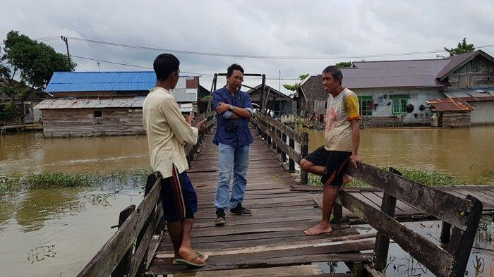 Wisata Kalsel, Desa Panjaratan di Kabupaten Tanahlaut, Turis Asing Susur Sungai Hutan Alam Bekantan - wisata-kalsel-desa-panjaratan-di-kabupaten-tanahlaut.jpg