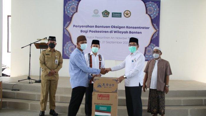 3 Ponpes di Kabupaten Serang Terima Bantuan Oksigen Konsentrator dari Kemenag RI