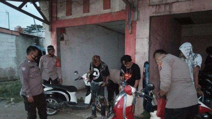 Beroperasi di Pusat Keramaian Tangerang, 34 Preman Diamankan Polisi