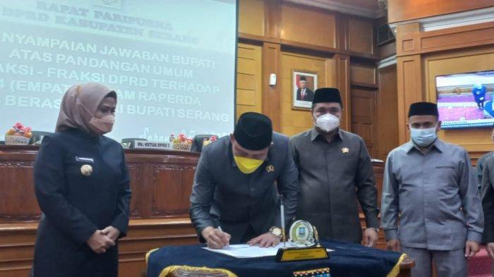 Realisasi Janji Kampanye, Bupati Serang Usulkan 4 Raperda ke DPRD, Apa Itu?