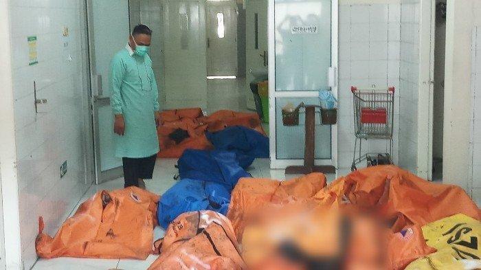 Korban Tewas Kebakaran Lapas Kelas I Tangerang Dibawa ke RS Polri Kramat Jati untuk Diidentifikasi
