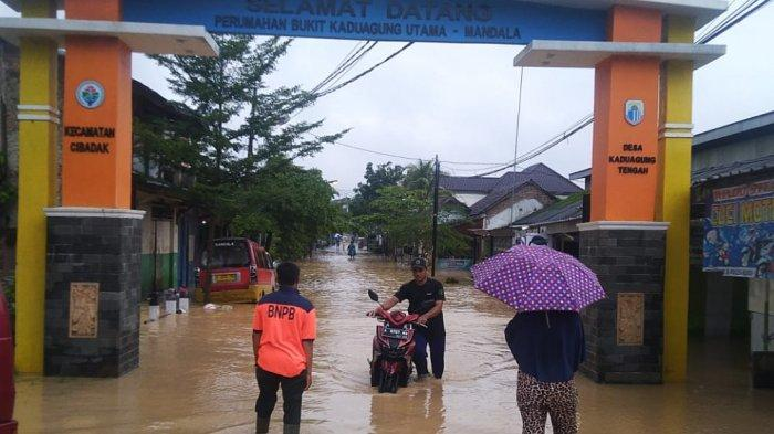 97 Rumah di Empat Kecamatan di Lebak Terendam Banjir
