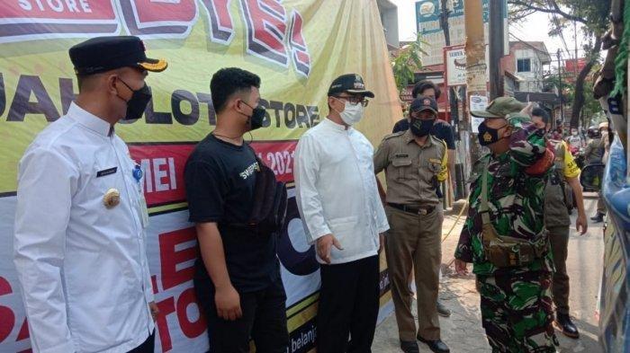 Diskon Timbulkan Kerumunan,Gerai Jakcloth di Tangerang Ditutup Petugas
