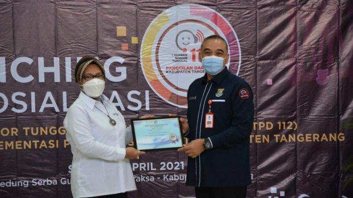Pemkab Tangerang Luncurkan Nomor Panggilan 112, Gratis! Bupati: Laporkan Jika Ada Kondisi Darurat