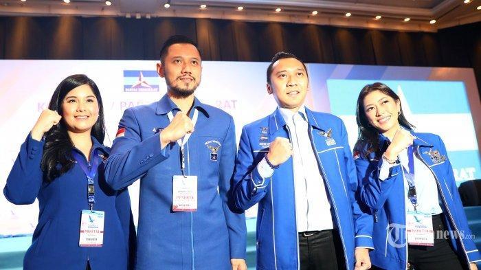 AHY Umumkan Pengurus Demokrat 2020-2025, Cawalkot Tangsel Siti Nur Azizah jadi Wasekjen