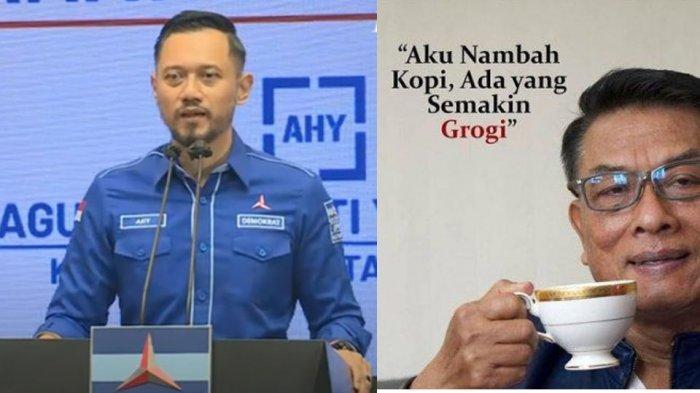 Mayor Vs Jenderal TNI Berebut Partai Demokrat, Agus Harimurti Yudhoyono atau Moeldoko Pemenangnya ?