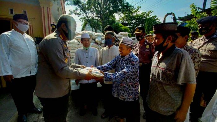 Saat Kapolres Serang Kota Pamitan Kepada Para Kyai dan Ulama, Mutasi ke Polda Jateng