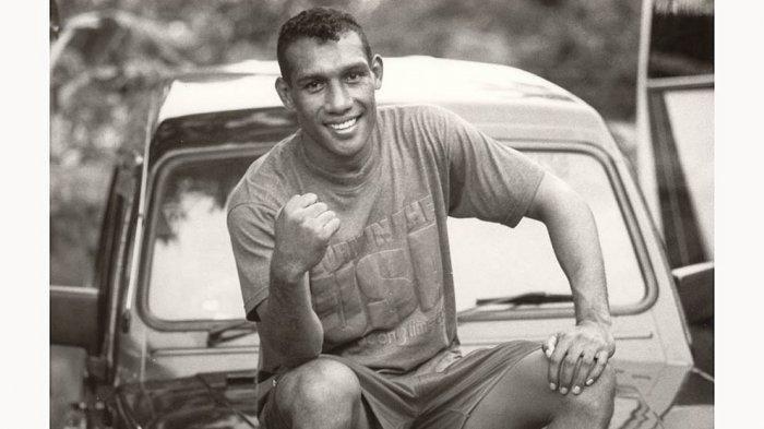 Albert Papilaya saat masih aktif sebagai petinju amatir nasional di kelas 75 kg.