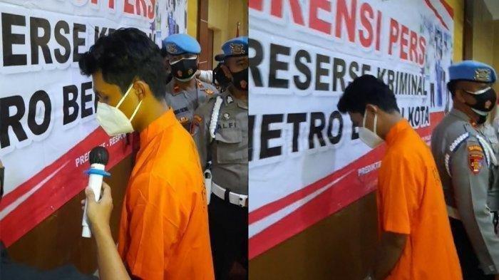 Pengakuan Anak Anggota DPRD Kota Bekasi tersangka kasus pencabulan gadis 15 tahun berinisial PU.