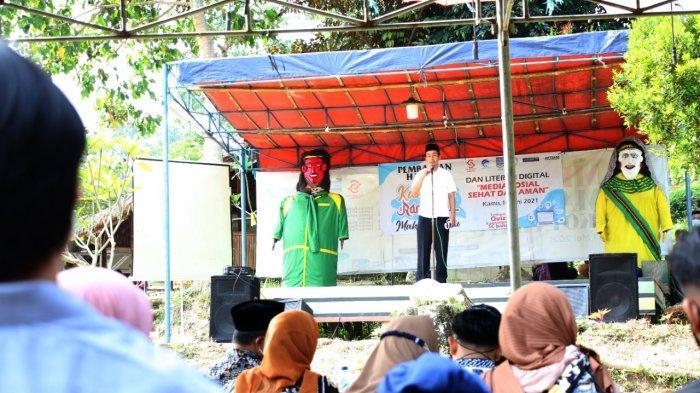 Sosialisasi Literasi Digital, Diskominfosatik Kabupaten Serang Minta Masyarakat Bijak Gunakan Medsos