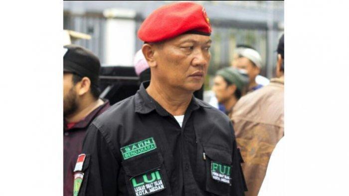 Anggota FUI sekaligus Kepala Lingkungan XI Kelurahan Sei Sikambing B Kecamatan Medan Sunggal, Sai'in
