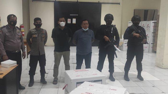 Vaksin Covid-19 Tiba di Banten, Gudang Farmasi Dinas Kesehatan Dijaga Personel Polres Serang Kota