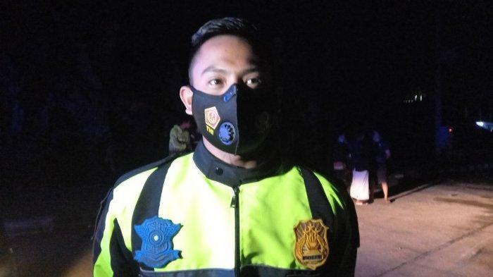 Anggota Unit Laka Polres Serang Kota Briptu Dimas Arya