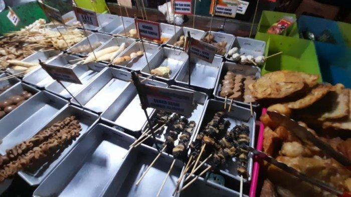 Wisata Kuliner Malam di Kota Serang, Angkringan Mas Coy Suguhkan 30 Varian Sate-Satean