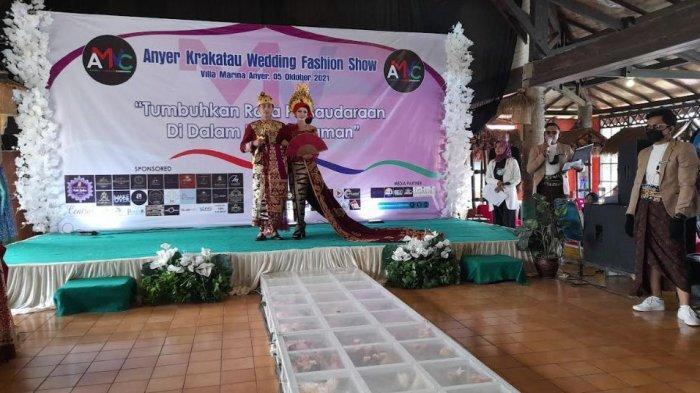 Pelaku Penyedia Jasa Pernikahan di Serang Berkumpul di Ajang Anyer Krakatau Wedding Fashion Show