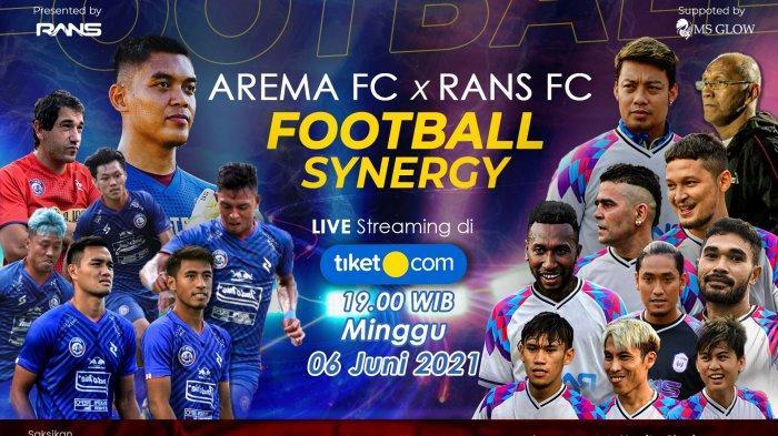 Jelang Uji Coba Melawan Arema FC,Seluruh Pemain RANS Cilegon FC dalam Kondisi Prima