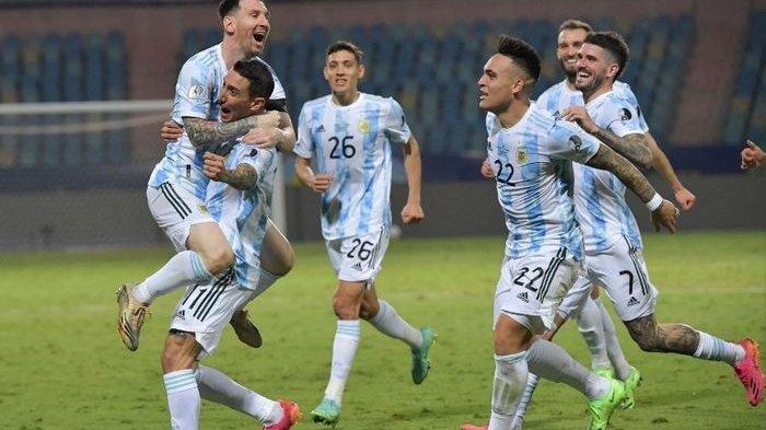 Argentina Juara Copa America 2021: Albicelese Akhiri Puasa Gelar 28 Tahun, Sempurnakan Karier Messi