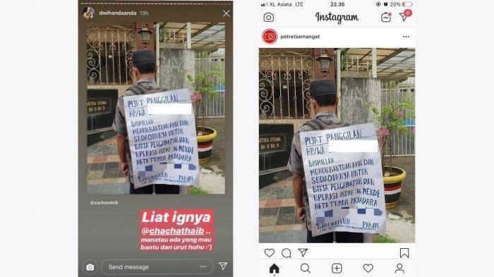 Cerita Si Tukang Pijat, Keliling Bintaro Tangsel Tawarkan Jasa, Demi Biaya Berobat Anggota Keluarga