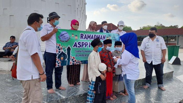 Asppi Banten Berikan Santunan kepada Anak Yatim, Libatkan Budayawan Gelar Diskusi Jalur Rempah