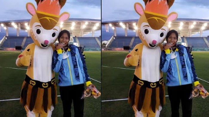PON XX Papua 2021 - Atlet Lompat Jangkit Putri asal Banten Sumbang Medali Perak di Cabor Atletik