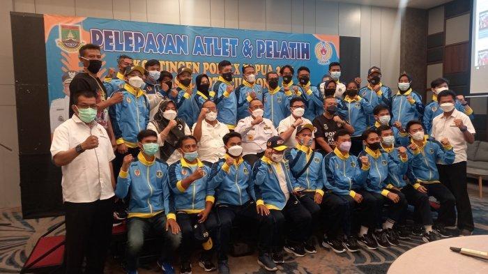 Lepas 25 Atlet Cilegon Berlaga di PON XX, Helldy: Foto Peraih Medali Dipajang di Jalan Protokol
