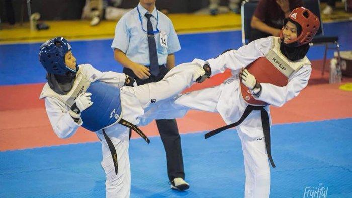 Atlet Taekwondo Provinsi Banten Fisca Afe Relia