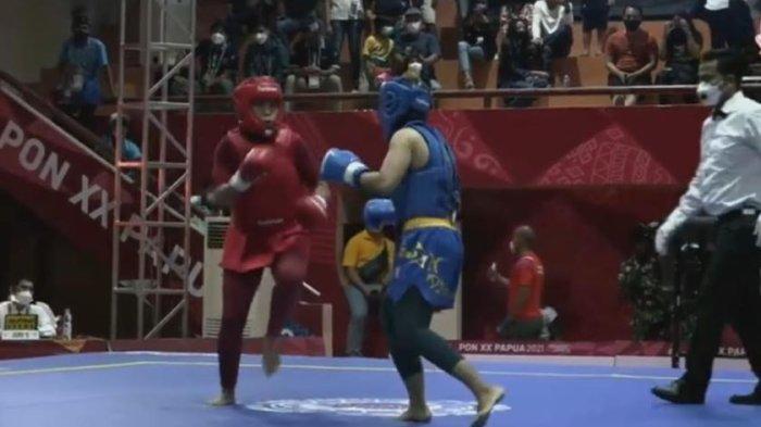 PON XX Papua 2021 - Melaju ke Semifinal, Atlet Wushu asal Banten Kejar Medali Emas