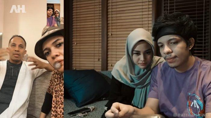 Pertama Kali Video Call Bareng Orangtua Atta, Aurel Dipuji Oleh Ibu Mertua: Baru Belajar Pakai hijab