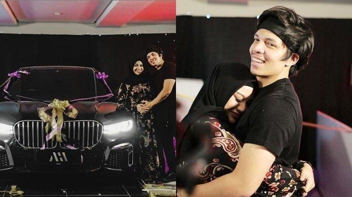 Atta Halilintar memberikan hadiah berupa mobil mewah untuk Aurel Hermansyah yang berulang tahun ke-23.